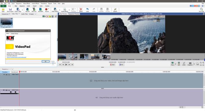 VideoPad Video Editor скачать бесплатно на русском языке