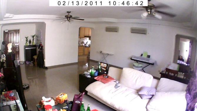 камера в квартире